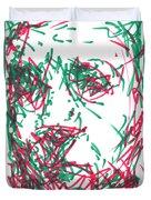 After Rembrandt - Self Portrait Duvet Cover