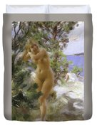 After The Bath, 1895 Duvet Cover