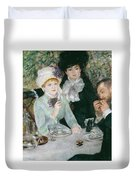 After The Luncheon Duvet Cover