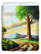 After The Rains Duvet Cover