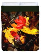 After The Rains Of Autumn Duvet Cover