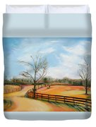 After The Ride By Karen E. Francis Duvet Cover