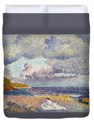 After The Storm The Bather Duvet Cover