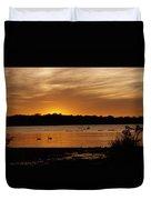 After The Sun Went Below The Horizon Duvet Cover
