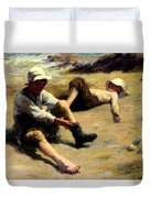 After The Swim Duvet Cover