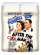 After The Thin Man 1935 Duvet Cover