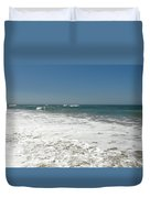 After Wave Duvet Cover by Atul Daimari