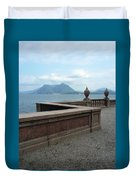 Afternoon At The Lake Duvet Cover