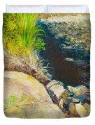 Afternoon Beside The Lane Cove River Duvet Cover