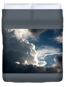 Afternoon Clouds Duvet Cover