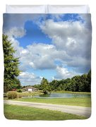 Afternoon In Tennessee Duvet Cover