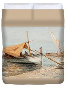 Afternoon In Toulon Duvet Cover