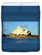 Afternoon Light On The Sydney Opera House Duvet Cover