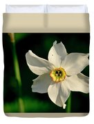 Afternoon Of Narcissus Poeticus. Duvet Cover