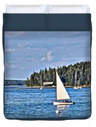 Afternoon Sail Duvet Cover