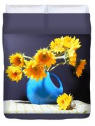 Afternoon Sunflowers Duvet Cover