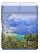Afternoon Thunder Duvet Cover