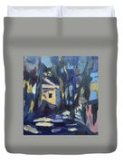Afternoon Trees Duvet Cover