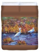 Afternoon Waders Duvet Cover