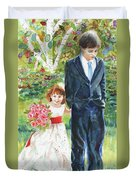 Afternoon Wedding Duvet Cover