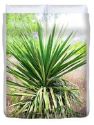 Afternoon Yucca Duvet Cover