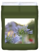 Agapanthus Africanus - Lily Of The Nile Duvet Cover