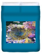Agape Gardens Autumn Waterfeature II Duvet Cover