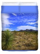 Agave And The Mountains 3 Duvet Cover