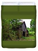 Aged Wood Barn Duvet Cover