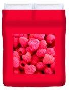 Agenda For Today ... Raspberry Jam Duvet Cover