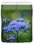 Ageratum Blue Duvet Cover