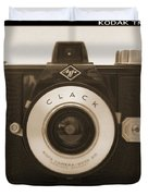 Agfa Clack Camera Duvet Cover
