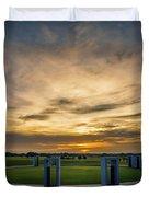 Aggie Bonfire Memorial Duvet Cover