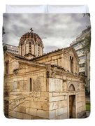 Agios Eleftherios Church Duvet Cover by James Billings