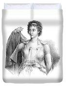 Agnodice, Ancient Greek Physician, 4th Duvet Cover