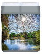 Agua Caliente Duvet Cover