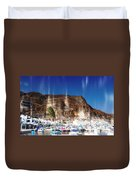 Aguadulce Port Duvet Cover
