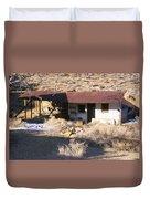Aguereberry Camp - Death Valley Duvet Cover