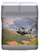 Agusta Merlin Flies The Loop  Duvet Cover