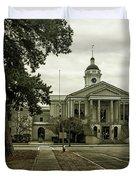 Aiken County Courthouse Duvet Cover