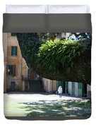 Aiken Rhett House Grounds Duvet Cover