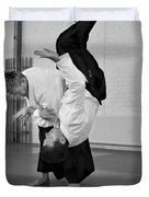 Aikido Up And Down Duvet Cover