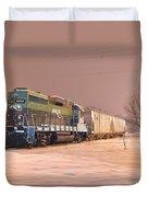 Aikr Gp30 In Snow Duvet Cover