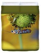Ailanthus Webworm Moth #6 Duvet Cover