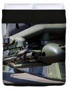 Aim-92 Stinger Weapon And Gunpod Duvet Cover