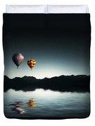 Air Balloons Duvet Cover