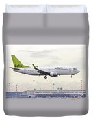 Air Baltic Boeing 737-300 Duvet Cover