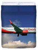 Air Berlin Boeing 737-800 Duvet Cover