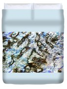 Air Bubbles Underwater - Abstract Duvet Cover