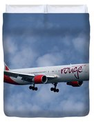 Air Canada Rouge Boeing 767-333 1 Duvet Cover
